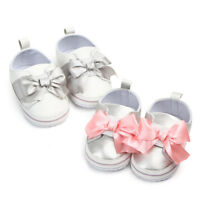 Toddler Cute Baby Girls Newborn Infant Baby Bow Casual First Walker Shoes
