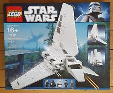 LEGO Star Wars 10212 Imperial Shuttle UCS (Now Retired) - New, Sealed - Perfect!