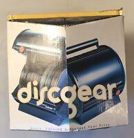 DiscGear Romdex 40 CD DVD Storage Case Black New Open Box