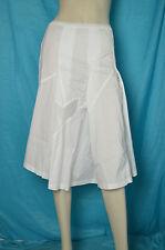 jupe blanche Cotélac T 1 taille élastique