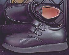 $135 NEW APIS Mt. Emey 618 Black Diabetic Stretch + Leather Shoes 7 XX Wide 5E