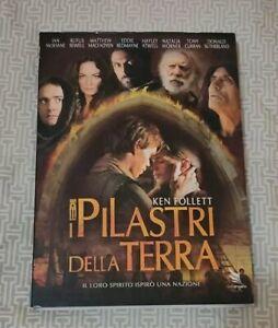 I PILASTRI DELLA TERRA di KEN FOLLETT 4 DVD SERIE COMPLETA ITALIANO