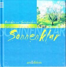 Kruppa, Hans – Sonnenklar – Gedichte und Photographien – wie neu