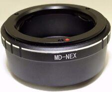 Minolta MD MC SR Lens to Sony E Camera mount adapter NEX 5R 5N ILCE a3100 a6300