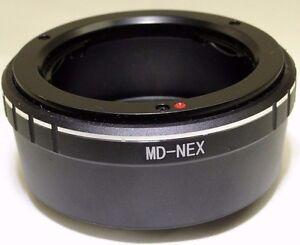 Minolta MD MC SR Lens to Sony E Camera mount adapter NEX ILCE a6000 a6600 a6100