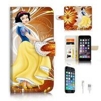 ( For iPhone 7 ) Wallet Case Cover P6450 Snow White