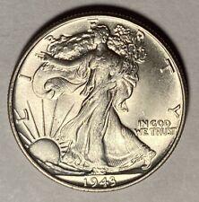 1943 WALKING LIBERTY HALF DOLLAR, NICE UNCIRCULATED COIN — NO RESERVE!
