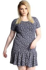 Viscose Floral Dresses Tunic/Smock Dress
