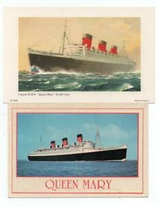 1960s RMS Queen Mary Items Relating to Long Beach (From Private Collection)