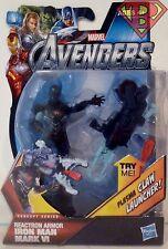 "IRON MAN -REACTRON ARMOR- The Avengers Movie Concept Series 4"" Figure #7 2012"