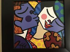 "Romero Britto ""Sweet Kisses"" offset lithograph fine art paper Reduced!!"