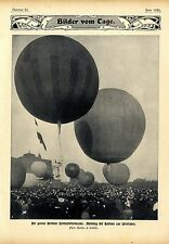 The Grosse Berliner Air Schiffer week: Rise of the balloons to Wide Ride 1906
