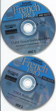 Instant Immersion french Pro Suite (discs 1, 2, 3, 4, 4 Cds)