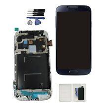 DISPLAY LCD + TOUCH SCREEN + FRAME per SAMSUNG GALAXY S4 i9505 SCHERMO BLU