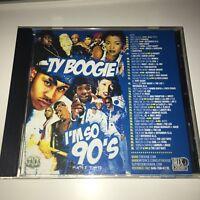 DJ Ty Boogie I'm So 90's Part 2 Hip Hop R&B RnB Throwback Classic Mixtape Mix CD