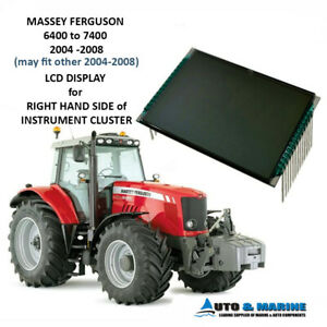MASSEY FERGUSON 6400 SERIES ONWARDS LCD VDO DISPLAY SCREEN 2003 - 2008 NEW