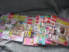 Lisa Wohnen und Dekorieren 11 Hefte 2016 Zeitschriften