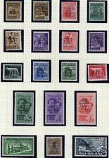 Italy/Local Imperia 1945 set of 18 stamps MLH  VF RARE!