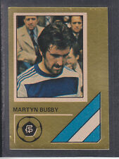 FKS - Soccer Stars 78/79 Golden Collection - # 242 Martyn Busby - QPR