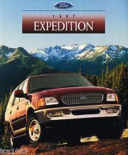 1997 Ford Expedition Lastwagen Händler Broschüre/Katalog: Xlt ,Eddie Bauer,4X4,'
