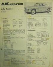 * ALFA ROMEO GIULIETTA BERLINA TI + SPRINT Reparaturanleitung  + SERVICE  *