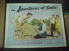 THE ADVENTURES OF SADIE, orig 1955 LC #4 [Joan Collins, Kenneth More]