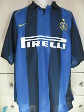INTER MILAN ITALY CALCIO NIKE 2001 PLAYER VINTAGE FOOTBALL SHIRT SOCCER JERSEY