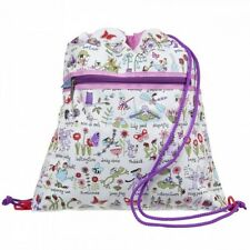 Fairy Garden design drawstring bag / swim bag / backpack