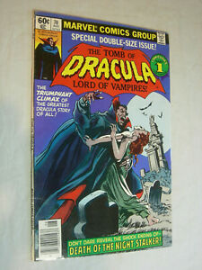 Tomb of Dracula #70 VG Scarce Squarebound final issue