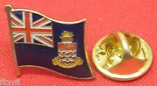 Cayman Islands Flag Lapel Hat Cap Tie Pin Badge George Town Caymanian Souvenir