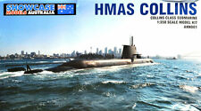 1/350 Modern Submarine : HMAS Collins [Australia RAN] : Showcase Models
