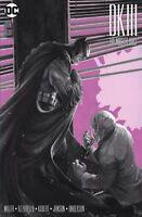 Dark Knight III Master Race #8 Dell'Otto B&W Variant Batman Two Face Pre Order
