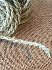 3 Meters Seagrass Rope - 5mm - Strong- Spring & Easter Crafts, Gardening