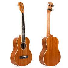Tenor Ukulele Hawaii Guitar Mahogany Top Matt Abalone Soundhole Rosette 26 inch