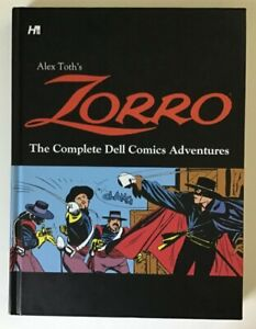 ALEX TOTH'S Zorro the Complete Dell Comics Adventures RARE hardbound, NICE cond.