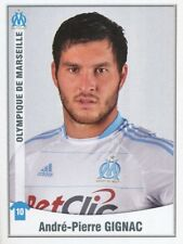 258 ANDRE-PIERRE GIGNAC OLYMPIQUE MARSEILLE OM STICKER FOOT 2011 PANINI