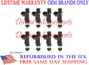 Lifetime Warranty-2004-2010 QX56 5.6L Flow Matched OEM Fuel Injector Set of 8