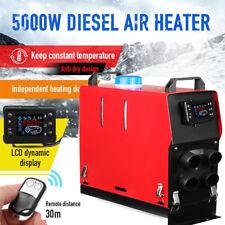 5KW 12V Integration Air diesel LCD Heizung Einfach Luftheizung Standheizung DE