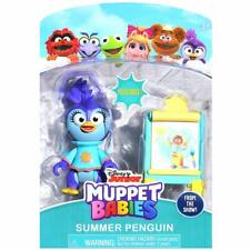 DISNEY Muppet Babies Summer Penguin and Easel Playset **NEW** Piggy, Kermit