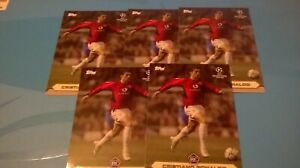 LOT X TOPPS CRISTIANO RONALDO LOST ROOKIE CARDS