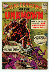 JERRY WEIST ESTATE: CHALLENGERS OF THE UNKNOWN #23 (VG) & 32 (FN) (DC 1961-63)