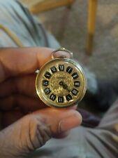 Vintage Lenga Clock Pendent