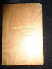 Rare Georgian miniature book 2.75 x 4 inches Christian Melodies The Garden 1833