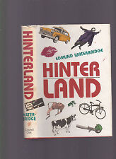 Hinter Land (author's first book), Edmund Waterbridge, 1988 1st edition HC dj