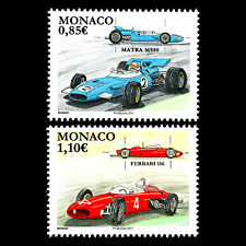 Monaco 2017 - Legendary Race Cars Formula 1 - MNH