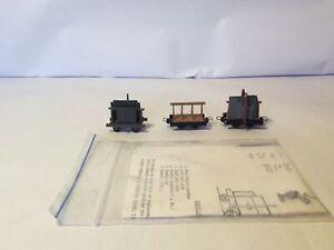 009 Corris Slate Slab Wagons X3