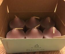 PartyLite Votive Candles V06424 Nib 6 Creamy Cocoa Retired Rare ! Chocolate