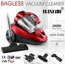 5L Bagless Vacuum Cleaner Multi Cyclonic Cyclone HEPA Filter Filtration System