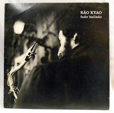 RAO KYAO - Fado Bailado - SAX - vinyl LP Vertigo 810457 PORTUGAL