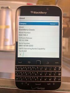 BlackBerry Classic - 16GB - Black (Verizon) Smartphone